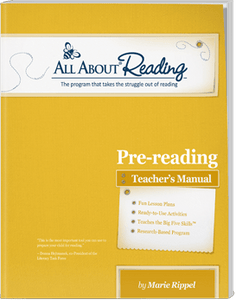 All About Reading Pre-Reading Individual Components