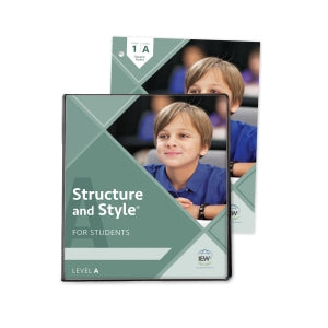 Structure & Style for Students: Level A: Year 1