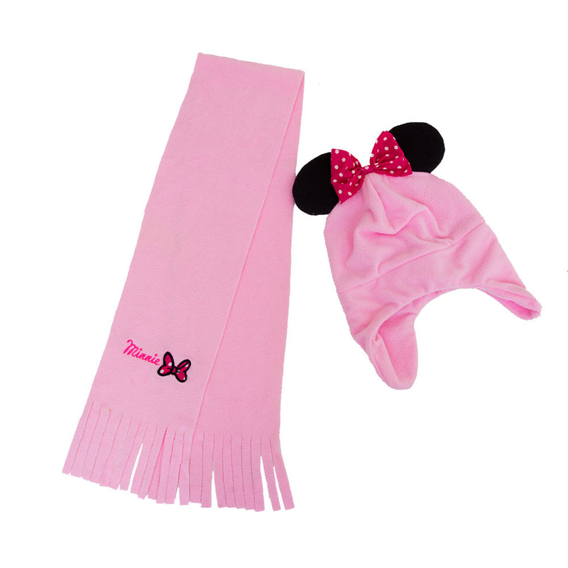 Set gorrito y bufanda Minnie