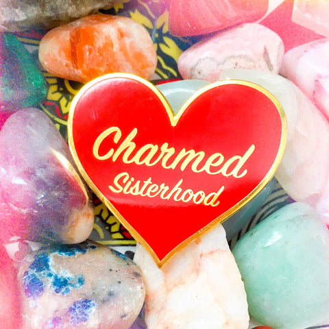 Charmed Sisterhood Enamel Pin