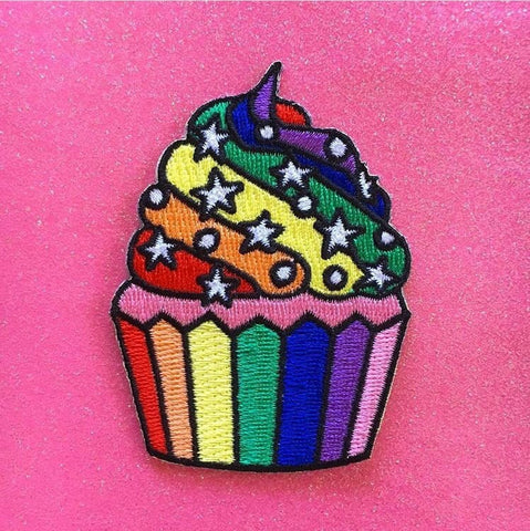 Starry Cupcake Patch