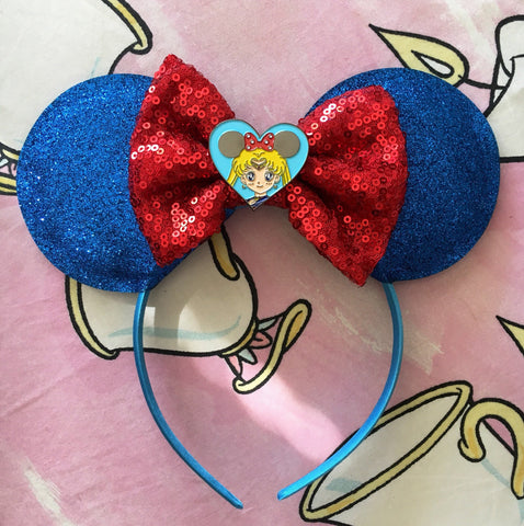 Sailor Minnie Mouse Ears