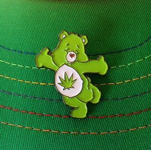 Stoney Bear Enamel Pin