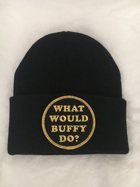 What Would Buffy Do? Beanie