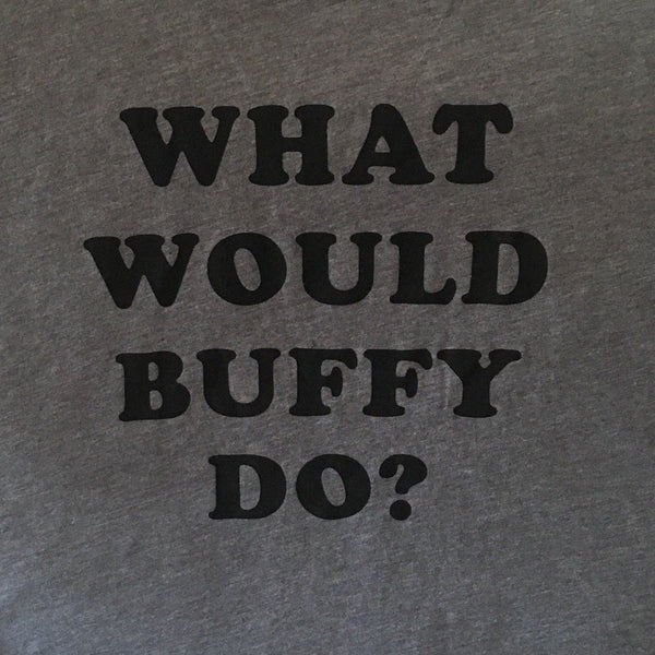 What Would Buffy Do? Muscle Tank