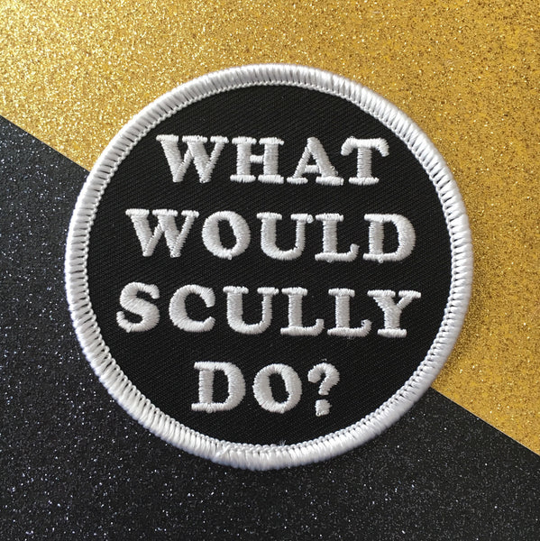 What Would Scully Do? X-Files Patch