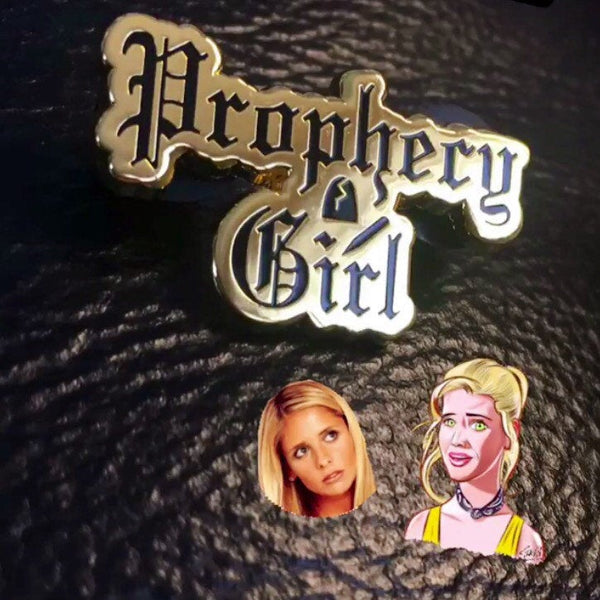Prophecy Girl Enamel Pin