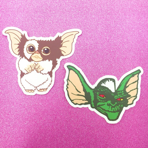 Gremlins Vinyl Stickers or Gift Sets