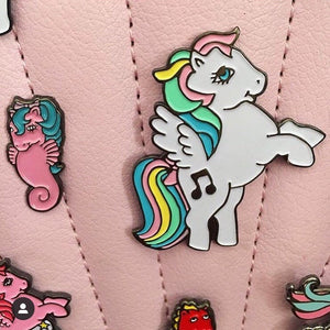 Music Pegasus Enamel Pin