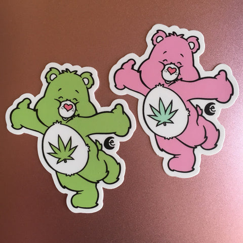 Stoney Bear, You pick: 2 Vinyl Stickers or Magnet or Patch or Vinyl Sticker Sheet