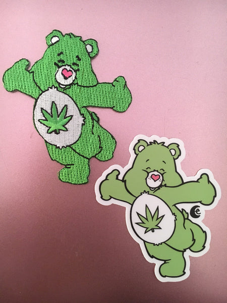 Stoney Bear Holographic Sticker or Gift Set Options