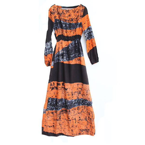 Mallam Dress Coral Drift