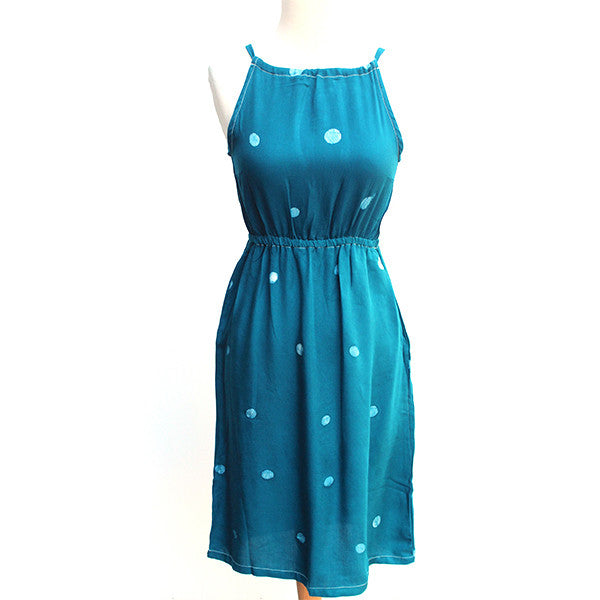 Teal Racerback Dress
