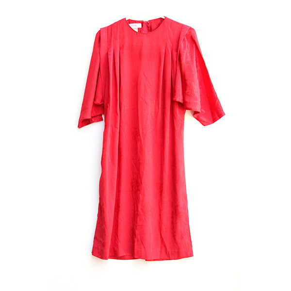 Red Batwing Dress S/M