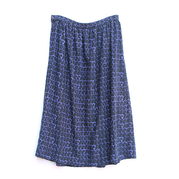 Purple Triangle Skirt M