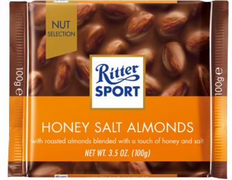 RITTER SPORT NS Honey Salt Almonds