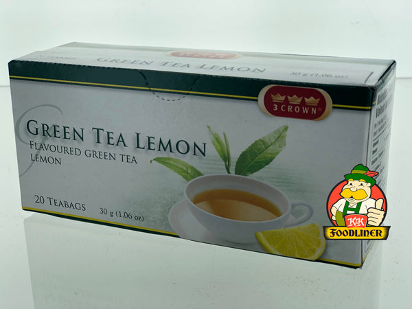 3 Crown Green Tea Lemon