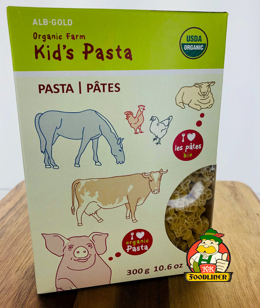 ALB GOLD Organic Kids Pasta (Multiple Varieties)