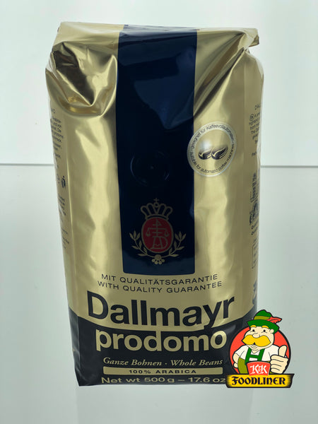DALLMAYR Prodomo Whole Beans