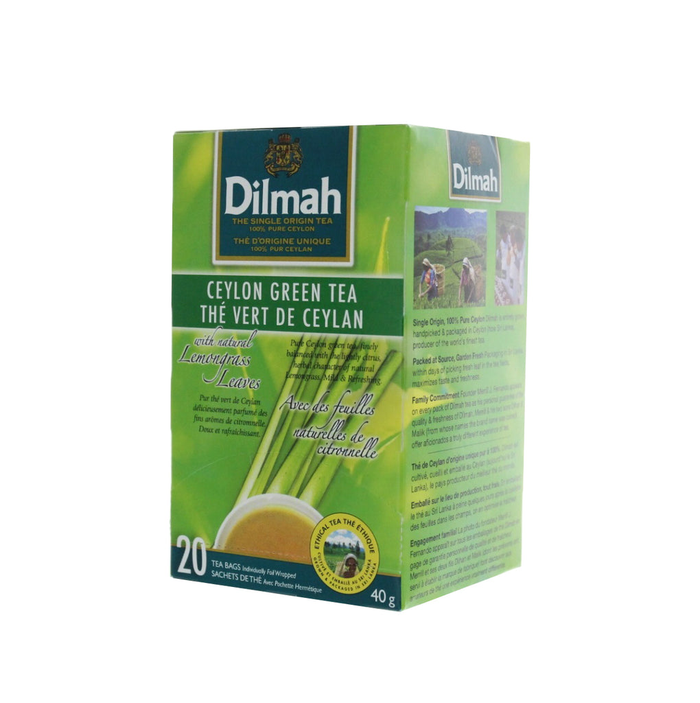 DILMAH Tea Ceylon Green w/Lemongrass