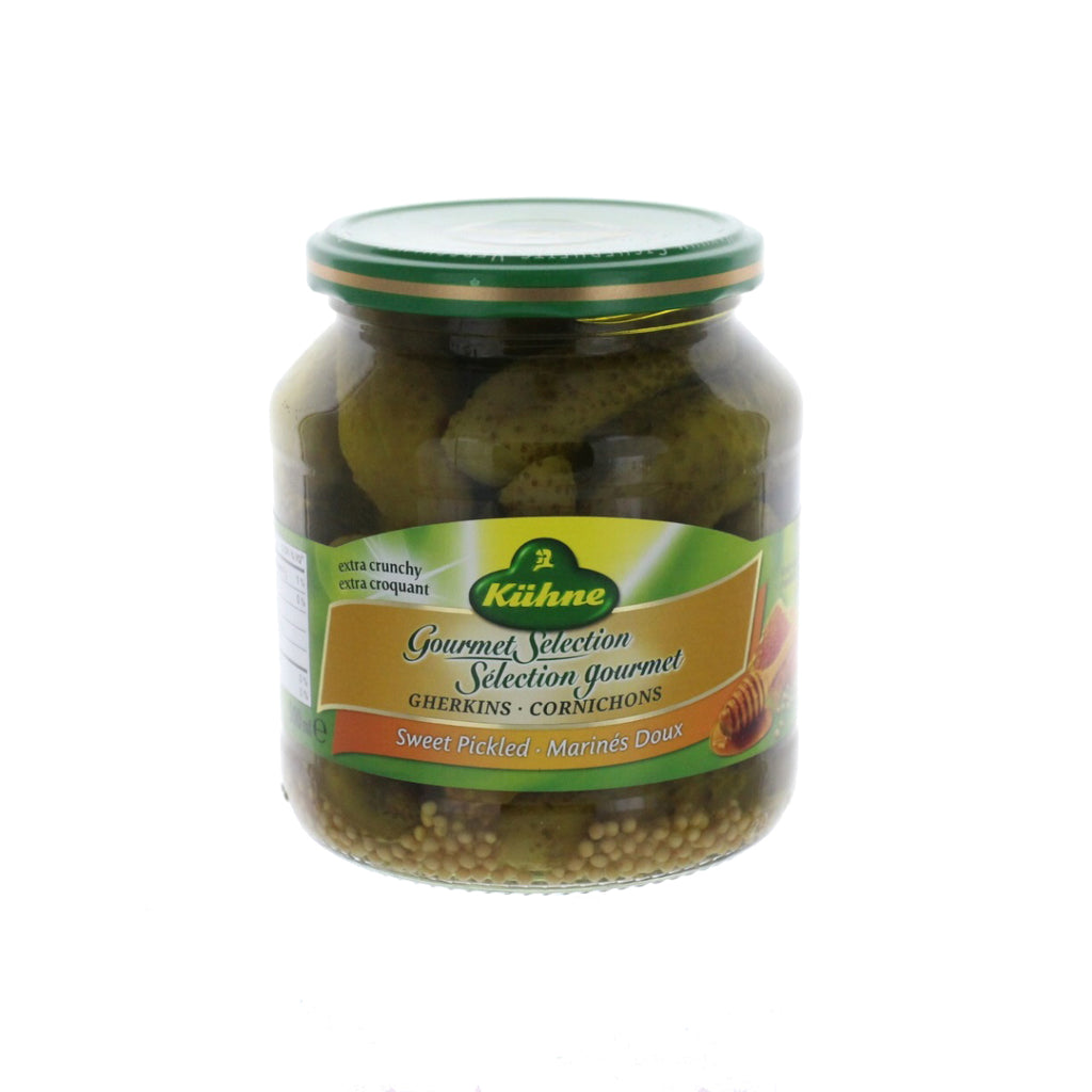 KÜHNE Gourmet Selection Gherkins Sweet Pickled