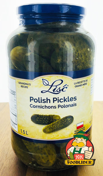 LISC Polish Pickles (1.5L)