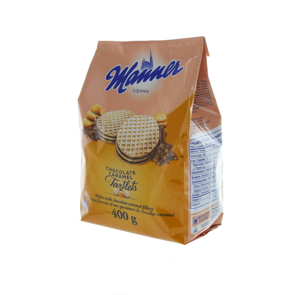 MANNER Tartlets Choco Caramel