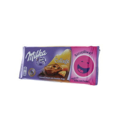 MILKA Collage Caramel, Biscuit & Chocolate Drops