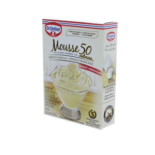 DR. OETKER Mousse 50 Calories French Vanilla