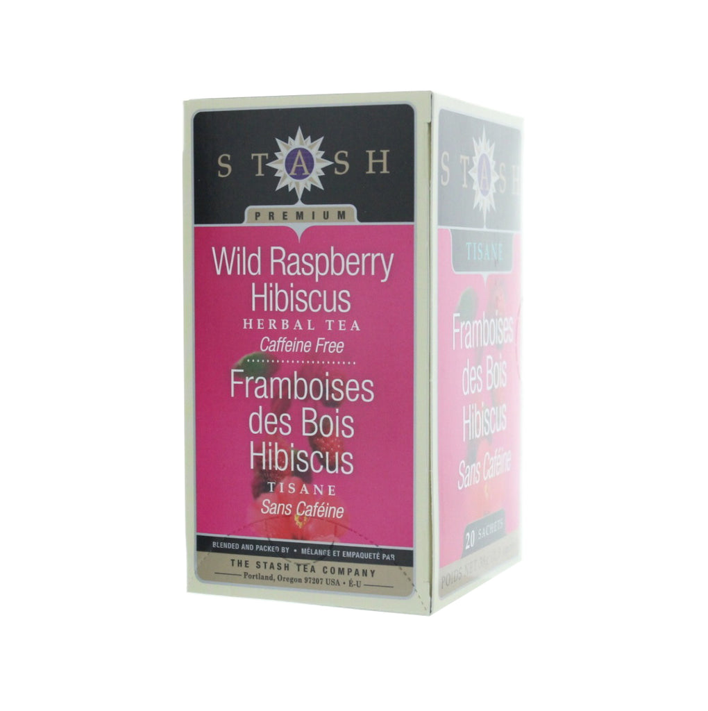 STASH Tea Wild Raspberry Hibiscus