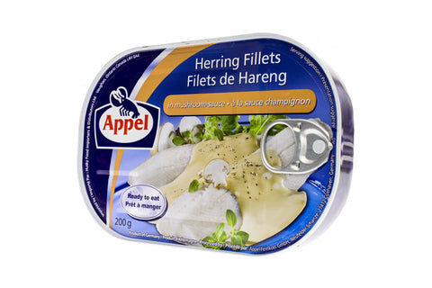 APPEL Herring Fillets in Mushroom Sauce