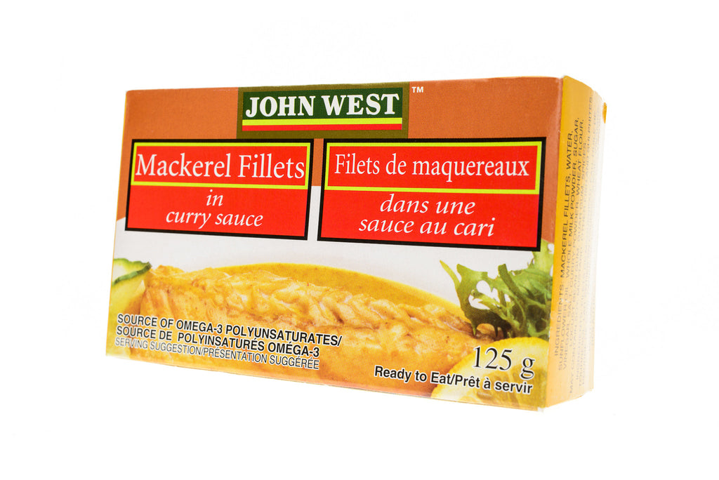JOHN WEST Mackerel Fillets in Curry Sauce