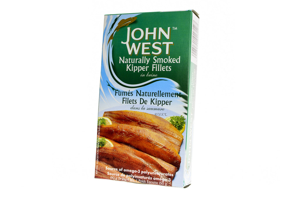 JOHN WEST Kipper Fillets Naturally Smoked in Brine