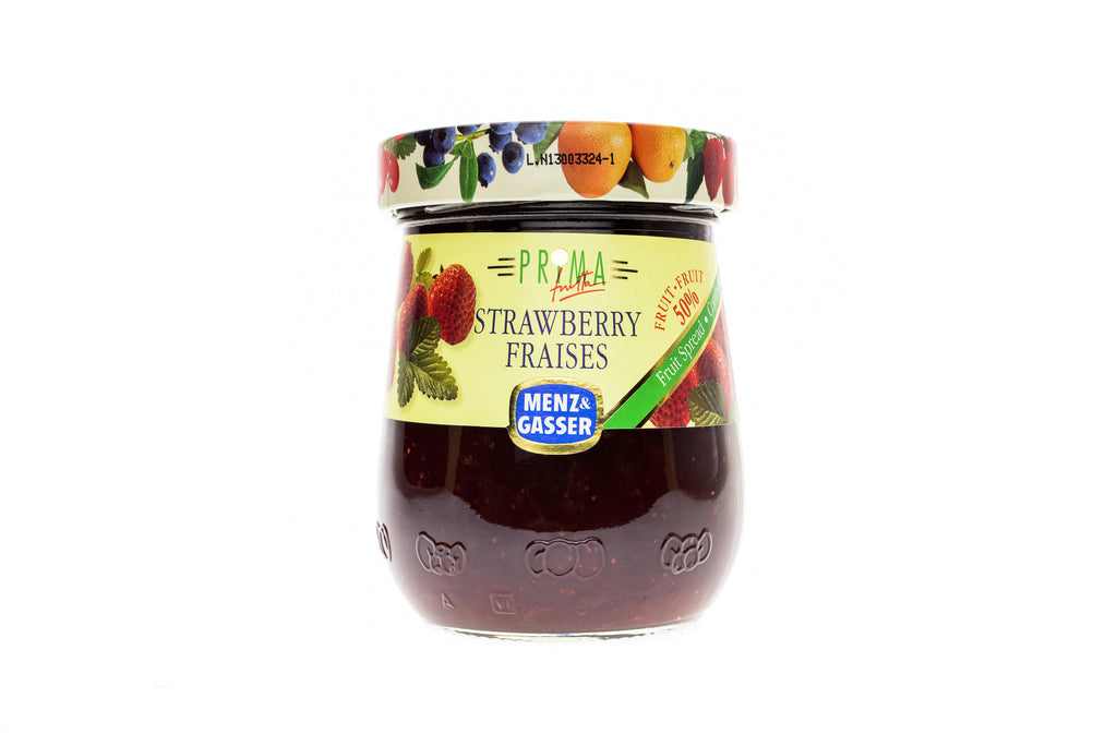 MENZ & GASSER Fruit Spread Strawberry