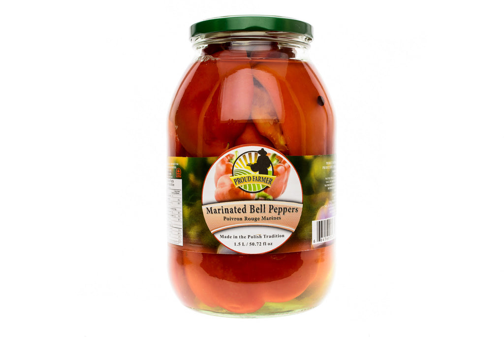 PROUD FARMER Marinated Bell Peppers