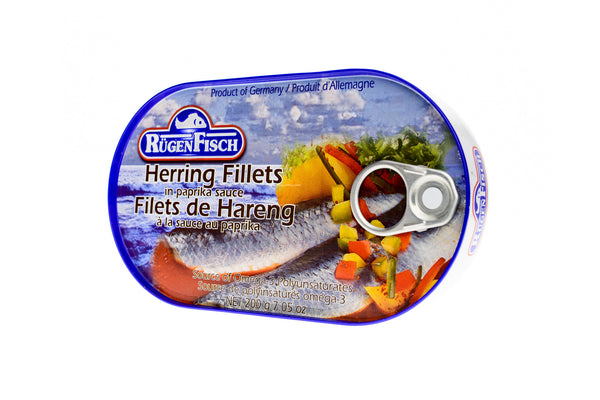 RÜGEN FISCH Herring Fillets in Paprika Sauce