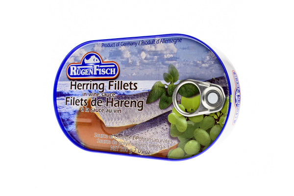 RÜGEN FISCH Herring Fillets in Wine Sauce
