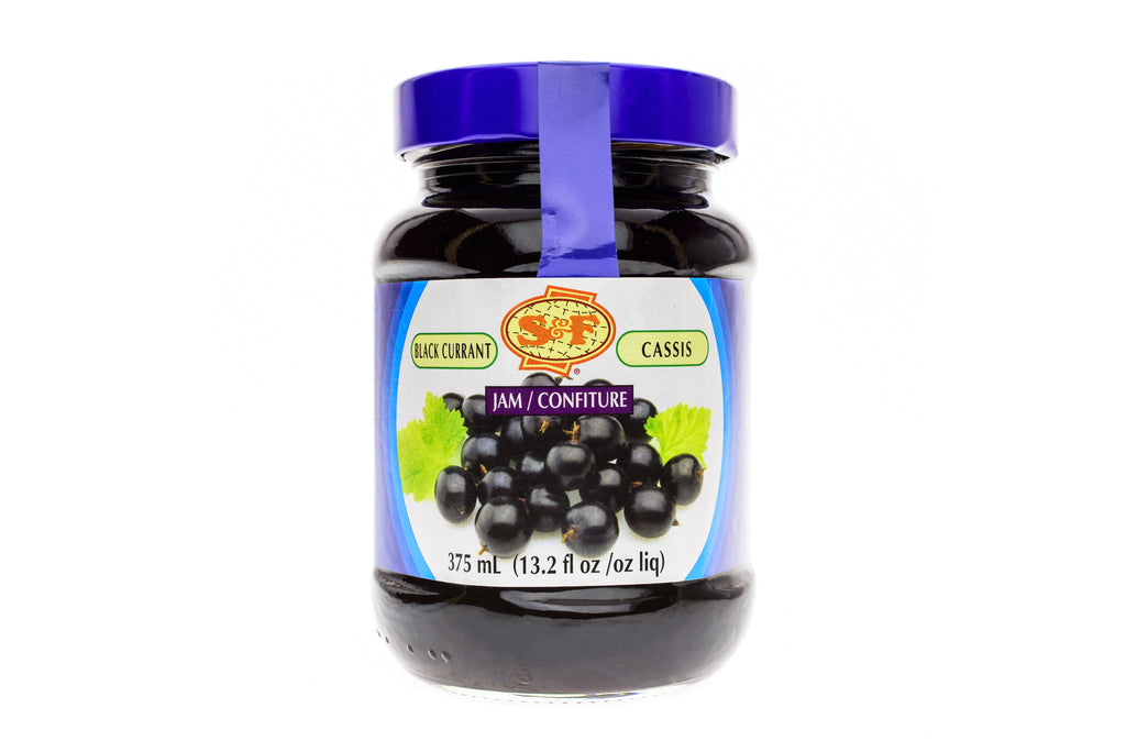 S&F Jam Black Currant