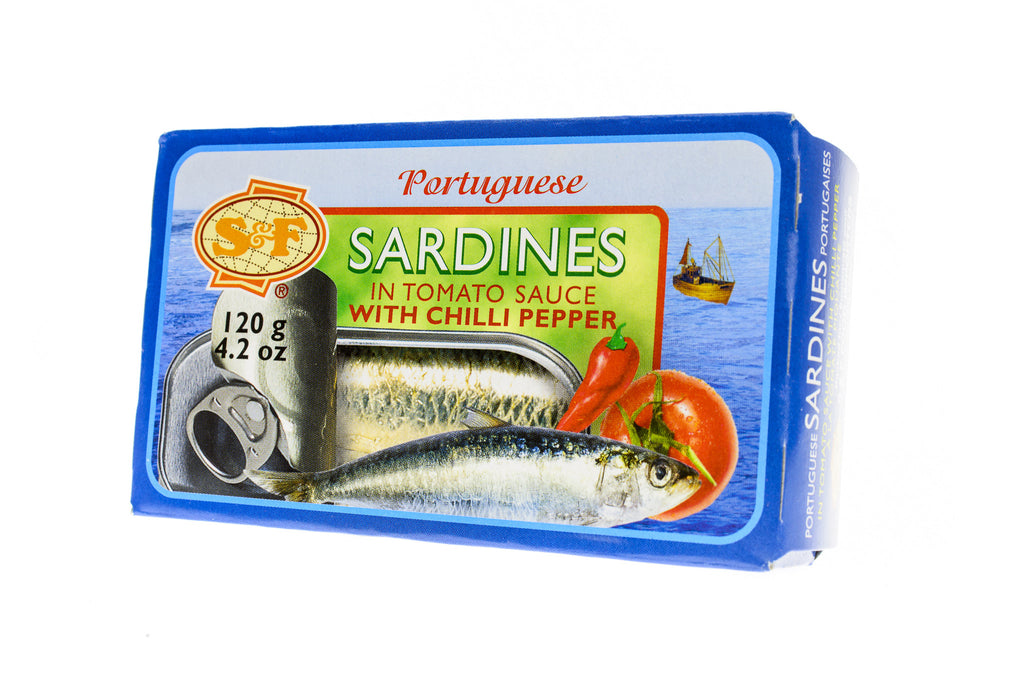 S&F Portuguese Sardines in Tomato Sauce w/Chilli Pepper