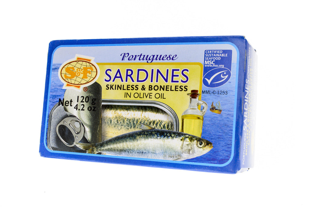 S&F Portuguese Sardines Skinless and Boneless in Olive Oil