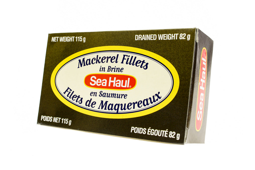 SEA HAUL Mackerel Fillets in Brine