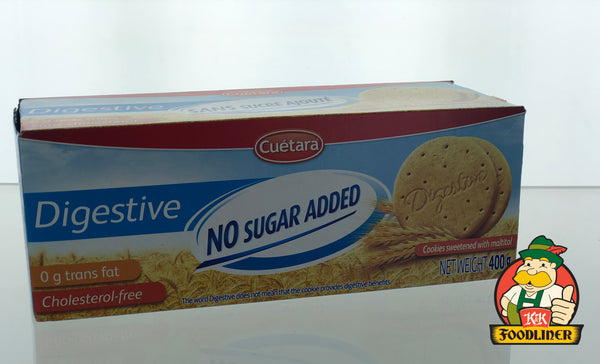 CUETARA Digestive No sugar added cookies