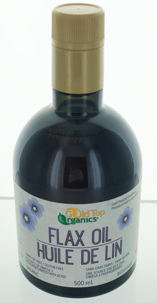 Gold Top Organics Flax Oil