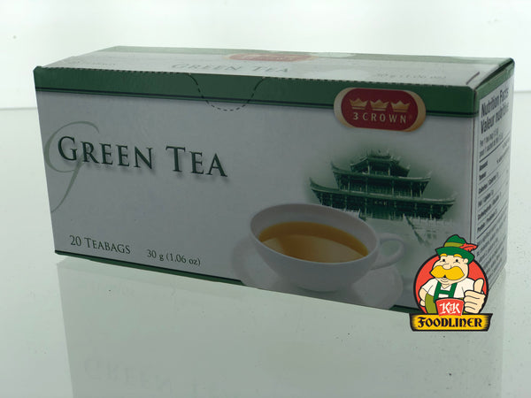 3 CROWN Green Tea