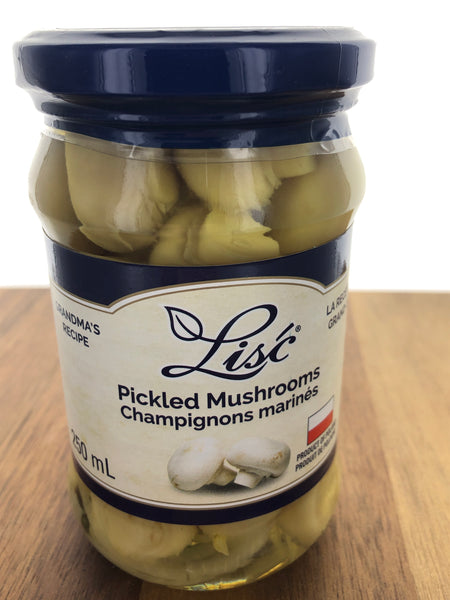 LISC Pickled Mushrooms