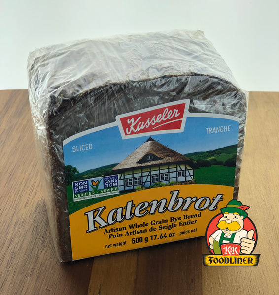 KASSELER Katenbrot Artisan Whole Grain Rye Bread