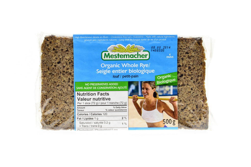 MESTEMACHER Organic Whole Rye