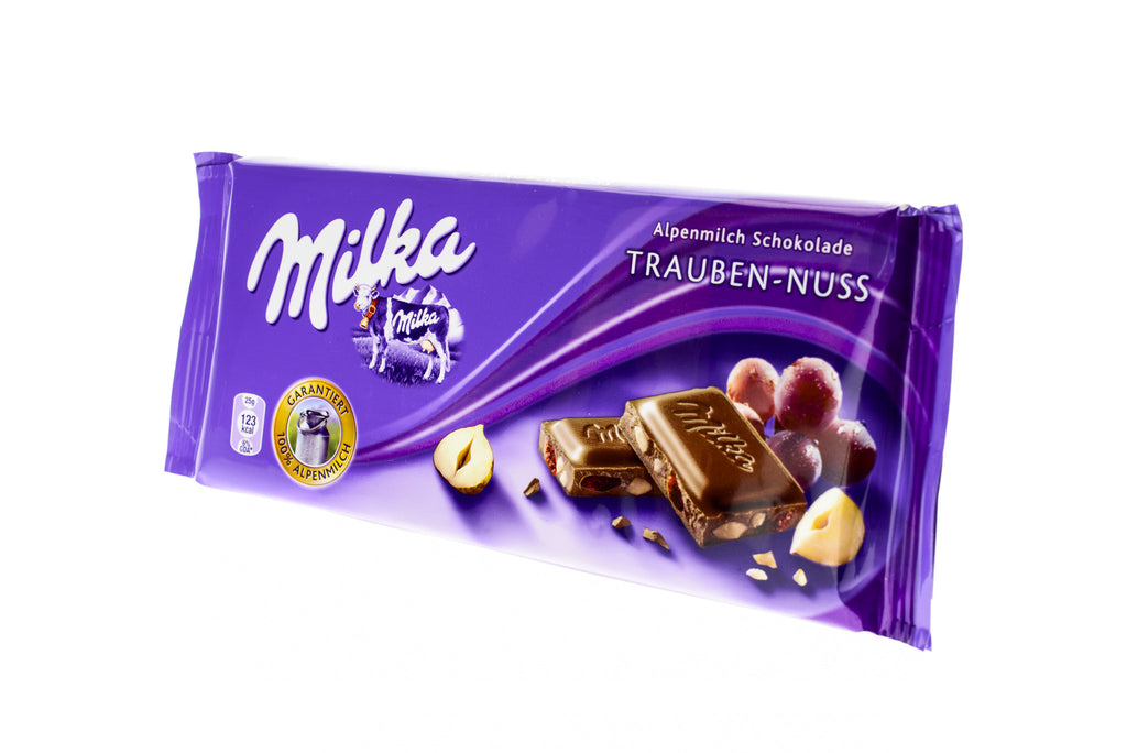 MILKA Raisin & Nut