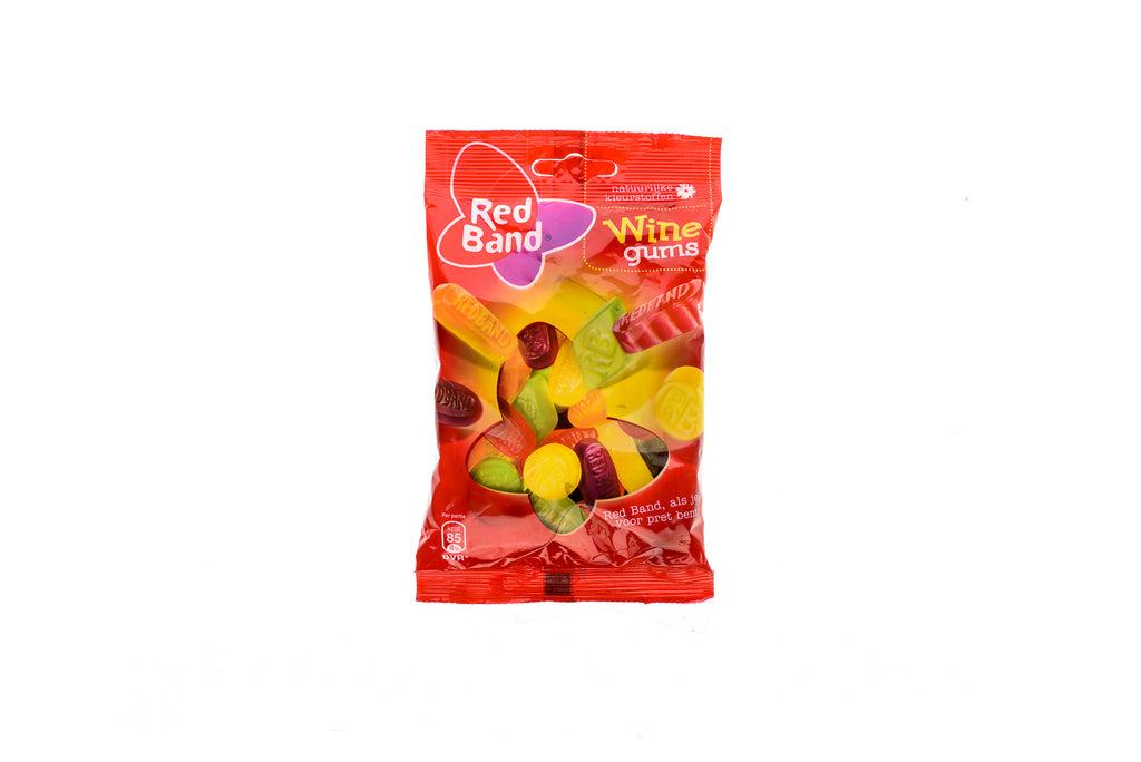 RED BAND Wine gums