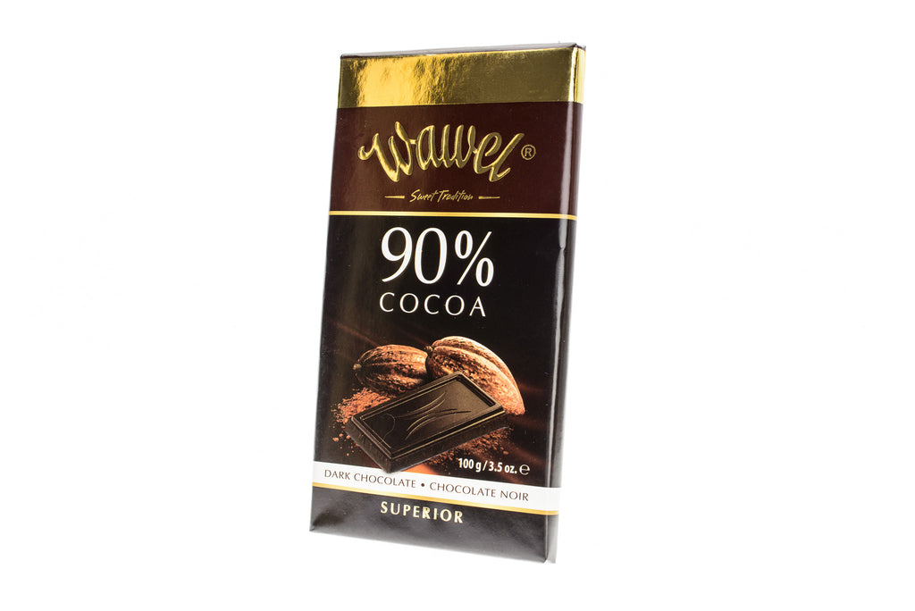 WAWEL Dark Chocolate 90% Cocoa